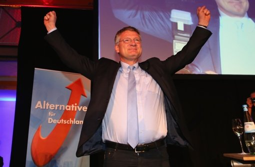 Jörg Meuthen wurde zum Fraktionsvorsitzenden der AfD gewählt. Foto: Getty