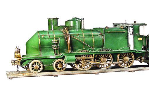 Auch der Train Géant, der sogenannte Zarenzug,  aus dem Hause Brianne wird versteigert. Das Interesse an dem Unikat  ist groß. Foto: Auktionshaus Hohenstaufen