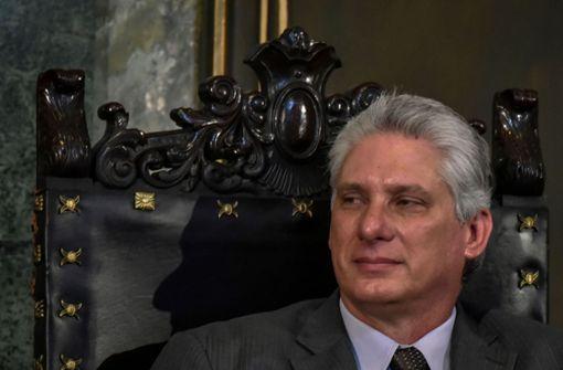 Díaz-Canel ist neuer Präsident