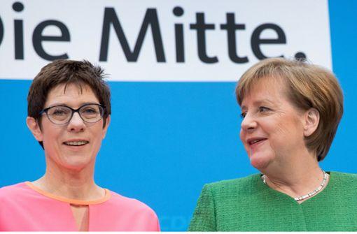 """""""AKK hat Biss und Mut"""""""