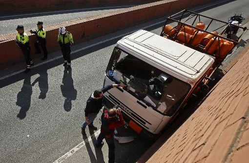Polizei schießt bei Verfolgungsjagd auf Geisterfahrer