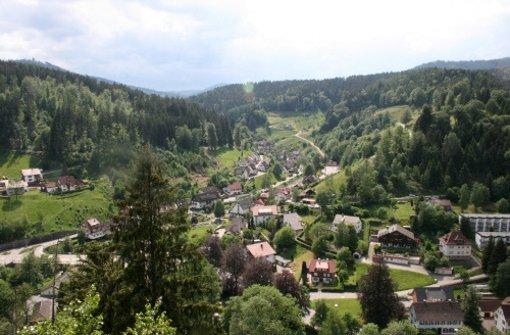 Der idyllisch gelegene Schwarzwaldort Baiersbronn Foto: dpa