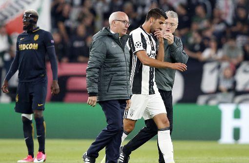 Sami Khedira verletzt sich im Halbfinale
