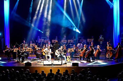 Hommage an Simon & Garfunkel in der Liederhalle