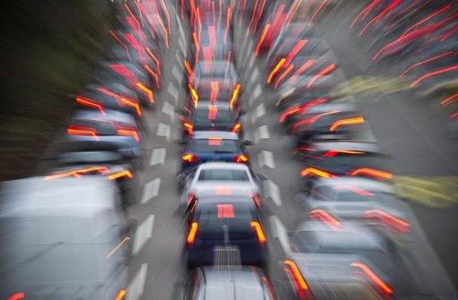 Aktuelle Verkehrslage in Stuttgart und Region