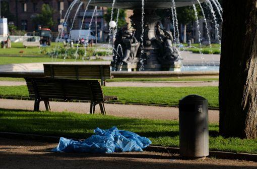 Auch in Stuttgart gehört Plastikmüll zum alltäglichen Bild. Manche Gastronomen schwenken auf Alternativen um, andere sehen im geplanten Verbot ein Problem. Foto: Lichtgut/Max Kovalenko