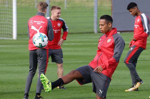 Es wurde nicht nur mit dem Ball trainiert,... Foto: Pressefoto Baumann