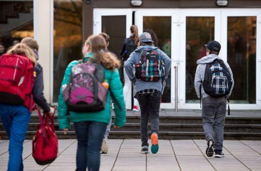 Viele Schüler schlafen zu wenig
