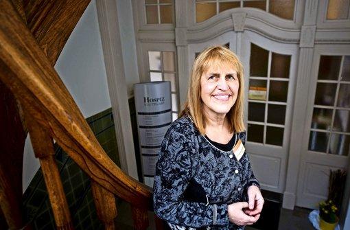 Leiterin des Hospiz Stuttgart: Elisabeth Kunze-Wünsch. Foto: Max Kovalenko