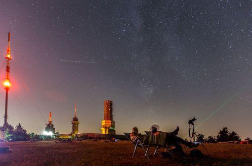 Sicht auf Sternschnuppen im Süden am besten
