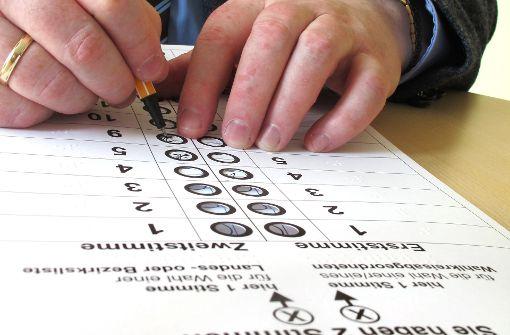 """""""Wer nicht wählen geht, wird  nicht  gehört"""""""
