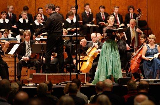 Beim Chor der tausend Stimmen haben Laien zusammen mit den Hymnus-Chorknaben gesungen. Foto: Lichtgut/Leif Piechowski