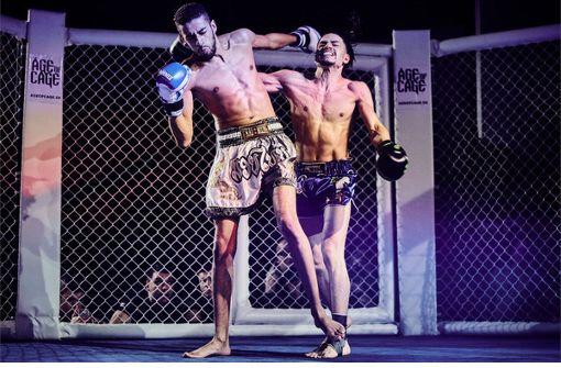Noch Kickboxen, schon Tanztheater: Steffen Schmid-Arbeit in der Ruoff-Stiftung Foto: Steffen Schmid
