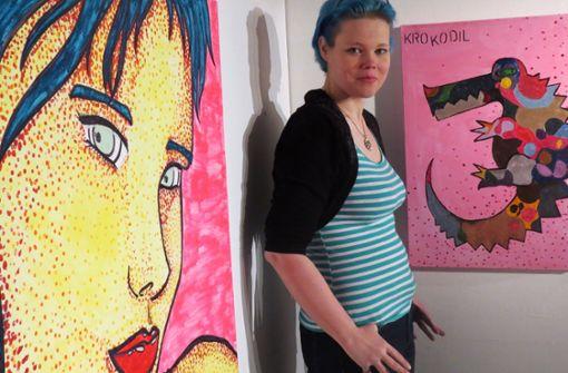 Pop-Art-Künstlerin kämpft für Lebenstraum