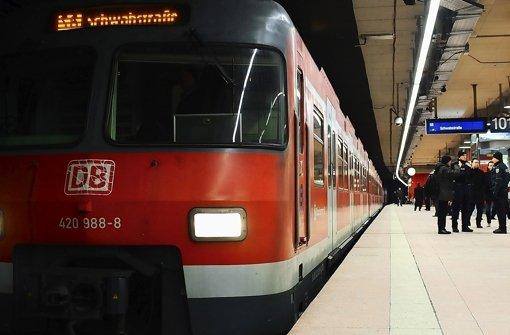 S-Bahn in der Innenstadt: Im vergangenen Jahr kamen die Züge oft verspätet. Foto: Michele Danze