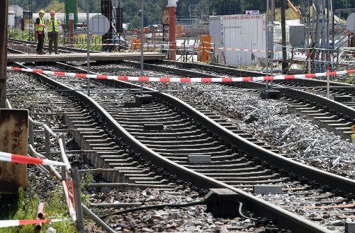 Erneute Unterbrechung auf Strecke der Rheintalbahn