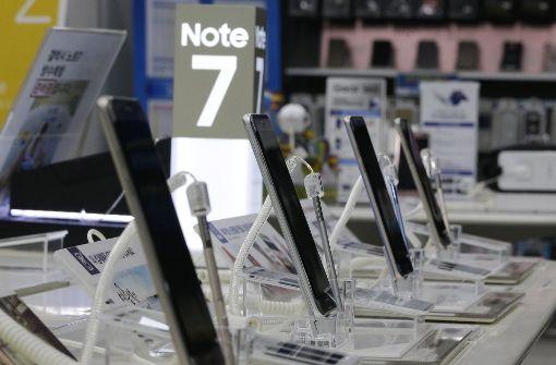 Darum explodierte das Samsung Galaxy Note 7