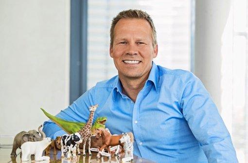 Hat schon in der Kindheit mit Schleichfiguren gespielt: Schleich-Chef Dirk Engehausen Foto: Schleich