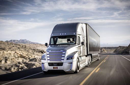 Daimler bringt auch mit US-Marke Elektro-Laster auf den Markt