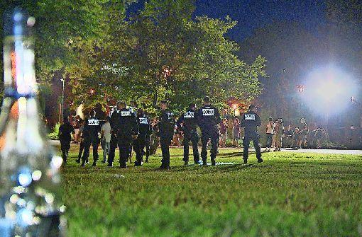 Polizei zieht erstes Fazit der Schlosspark-Räumung