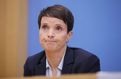 Frauke Petry kündigt Austritt an