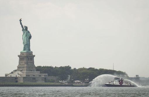 Freiheitsstatue in New York vorübergehend evakuiert