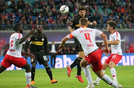 RB Leipzig schlägt sieglosen VfB mit 2:0