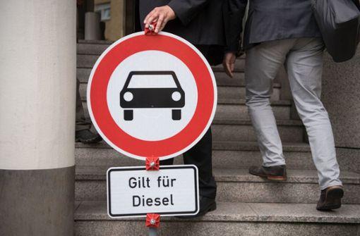 Wahlkampf um die Diesel-Fahrer