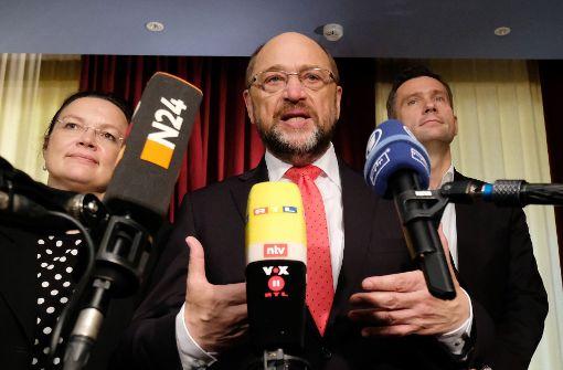 Schulz ruft SPD zur Geschlossenheit auf