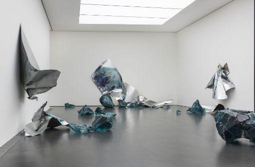 """Ein Raum, ein Werk – """"Kubus"""" macht es für Myriam Holme möglich . . .Foto: Frank Kleinbach Foto:"""