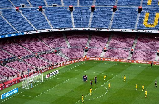 FC Barcelona siegt ohne Fans 3:0