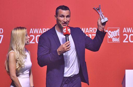 Auszeichnung für Lahm, Klitschko und Hitzfeld