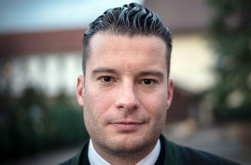 David Bendels ist im vergangenen Sommer aus der CSU ausgetreten – jetzt steht er an der Spitze eines konservativen Vereins mit Sitz in Stuttgart Foto: StN