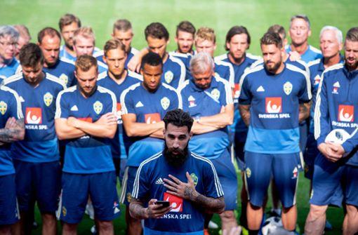 Schweden setzt bei WM 2018 starkes Zeichen gegen Rassismus