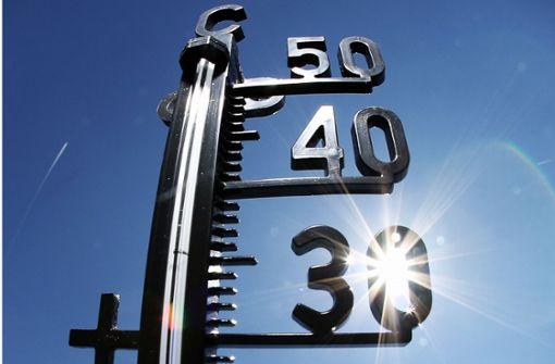 Erst kommt die Hitze, dann der Temperatursturz