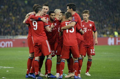 FC Bayern siegt in Athen durch Doppelschlag