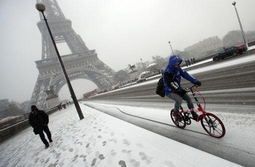 Eiffelturm geschlossen