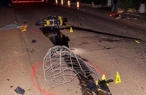 22-Jähriger stirbt bei Motorradunfall
