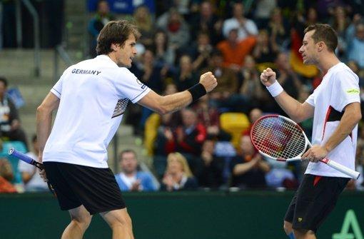 Deutsche Tennis-Herren im Viertelfinale