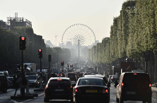 Die Champs-Elysées in Paris Foto: AFP