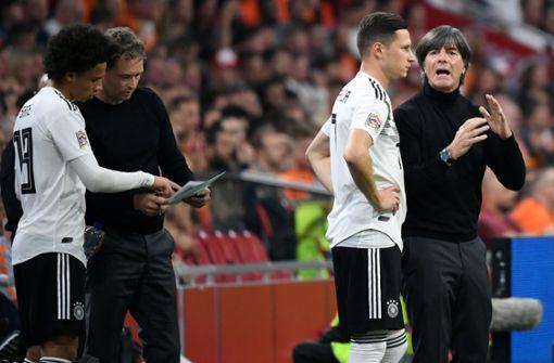 Niederlande schießt Deutschland in Liga B