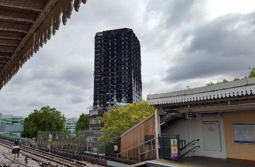 Der Brand im Grenfell Tower im Westen Londons gilt als schlimmste Brandkatastrophe in Großbritannien seit mehr als 100 Jahren. Foto: PA Wire