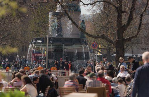 Warme Mittelmeer-Luft verwöhnt Stuttgart