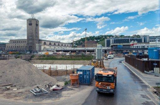 Der neue Tiefbahnhof  wird nach heutigen Stand erst Ende 2023 in Betrieb gehen können. Foto: 7 Aktuell