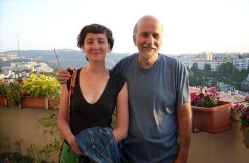Lisa Welzhofer und ihr Vater Hagai bei ihrem ersten Treffen 2008 in Jerusalem. Foto: privat