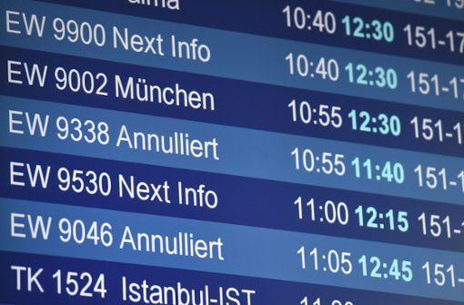 """Passagierflugzeug bietet """"Friederike"""" Paroli"""