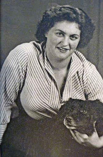 Doris Schmauder in jungen Jahren. Foto: privat
