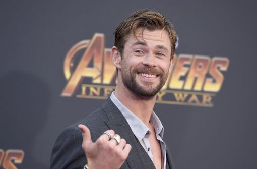 Chris Hemsworth und Robert Downey Jr. feiern Premiere in Hollywood
