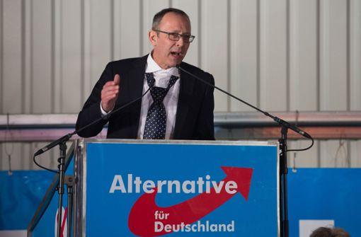 AfD-Politiker spricht bei Kundgebung in Dresden