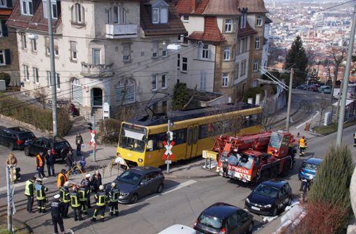 In Stuttgart ist es in dieser Woche zu zwei Unfällen mit der Zahnradbahn gekommen. Foto: Andreas Rosar Fotoagentur-Stuttgart
